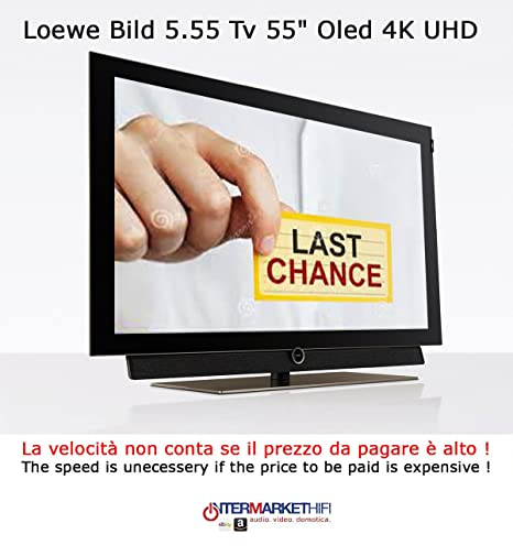 Loewe Bild 5.55 TV 55 Inch OLED 4 K UHD Audio 80 Watt: Amazon.co.uk ...