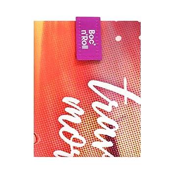 Rolleat - BocnRoll Young - Bolsa Merienda Porta Bocadillos Ecológica y Reutilizable sin BPA | Funda Bocadillo con Cierre Fácil Ajustable, Diseño ...