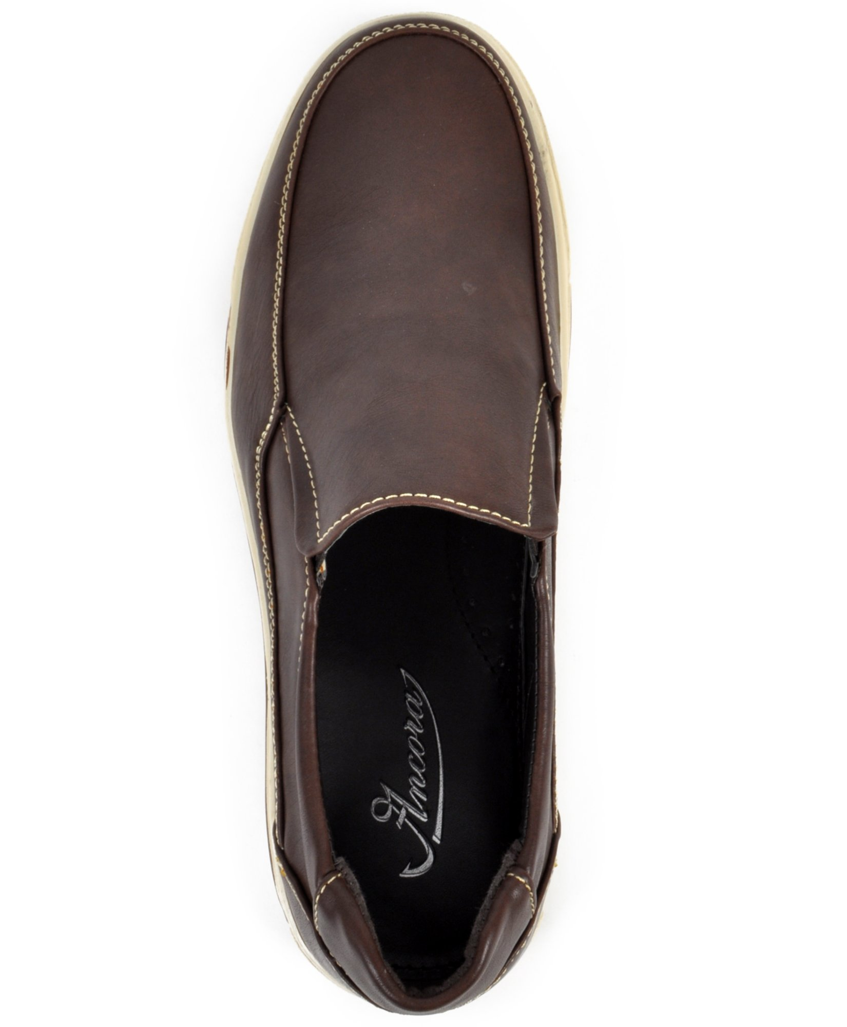 Men's Comfort Stride Loafers (9.5C, Brown) by boxed-gifts (Image #2)
