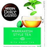 Nescafé Dolce Gusto Marrakesh Style Tea, Greentea with Peppermint 16 Capsules