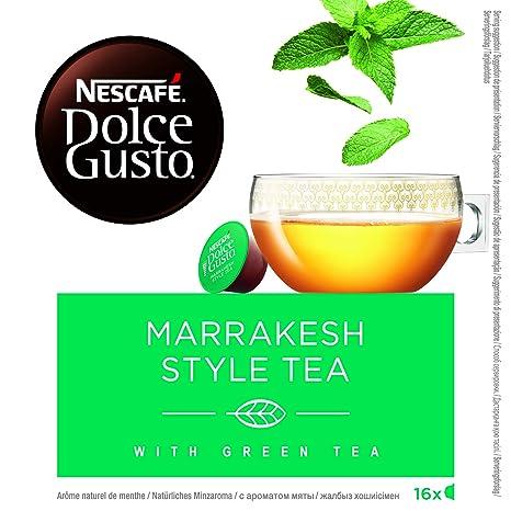 NESCAFÉ Dolce Gusto Marrakesh Style Tea   Cápsulas de Té - 16 cápsulas de café