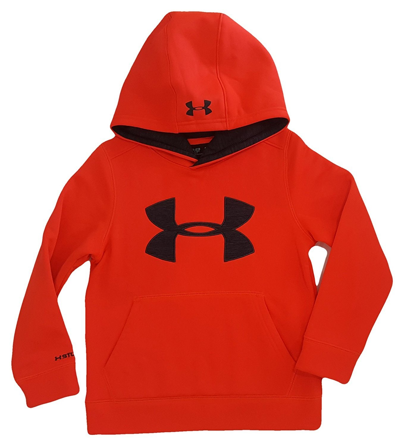 Under Armour Boy's Storm Armour Fleece Big Logo Hoodie Sweatshirt Under Armour Kids 1259690-003-MaParent