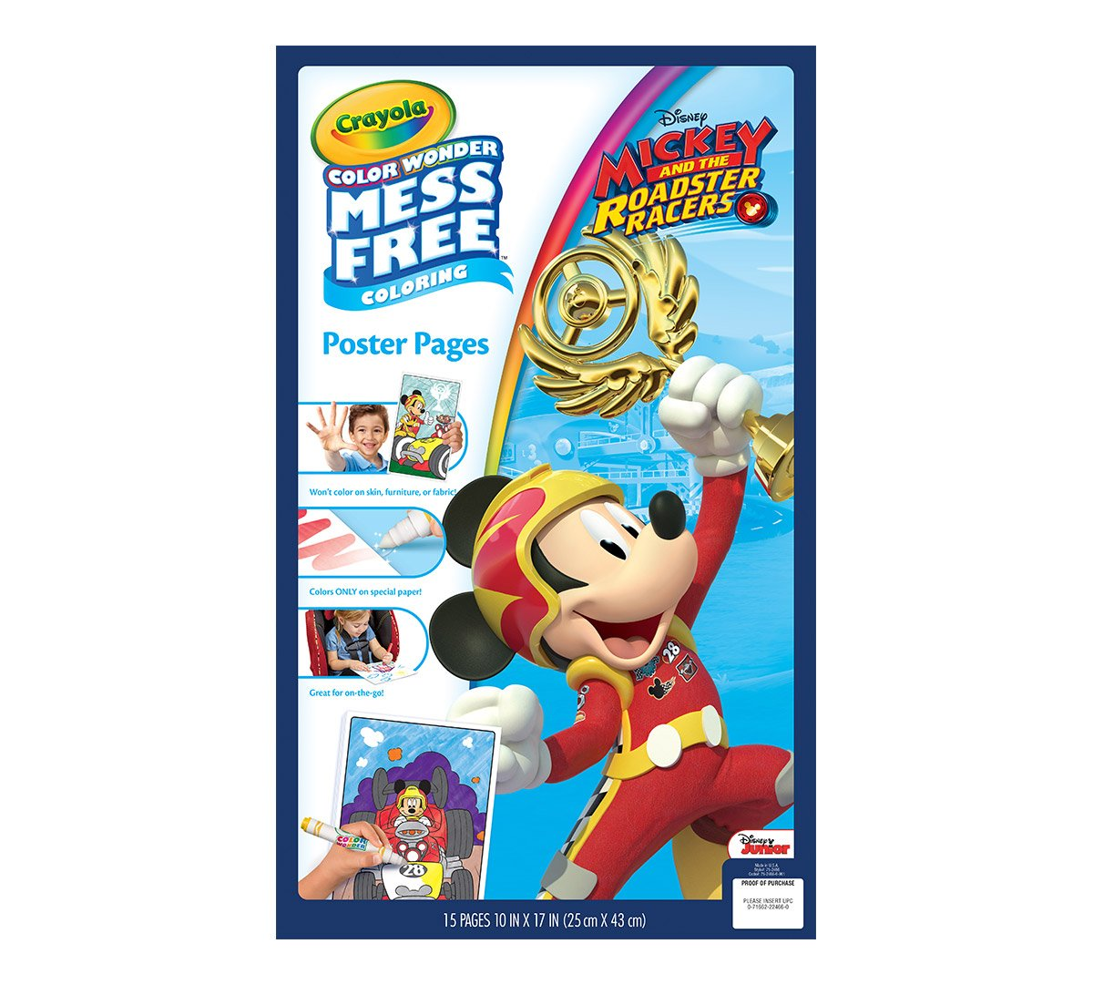 on sale Crayola Color Wonder Mess Free Coloring Poster Pages ...