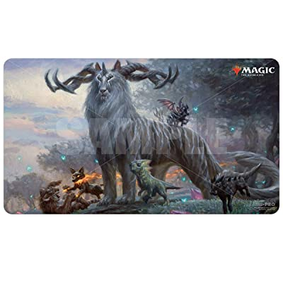 Ikoria: Lair of Behemoths - Kaheera, The Orphanguard Playmat for Magic: The Gathering: Toys & Games
