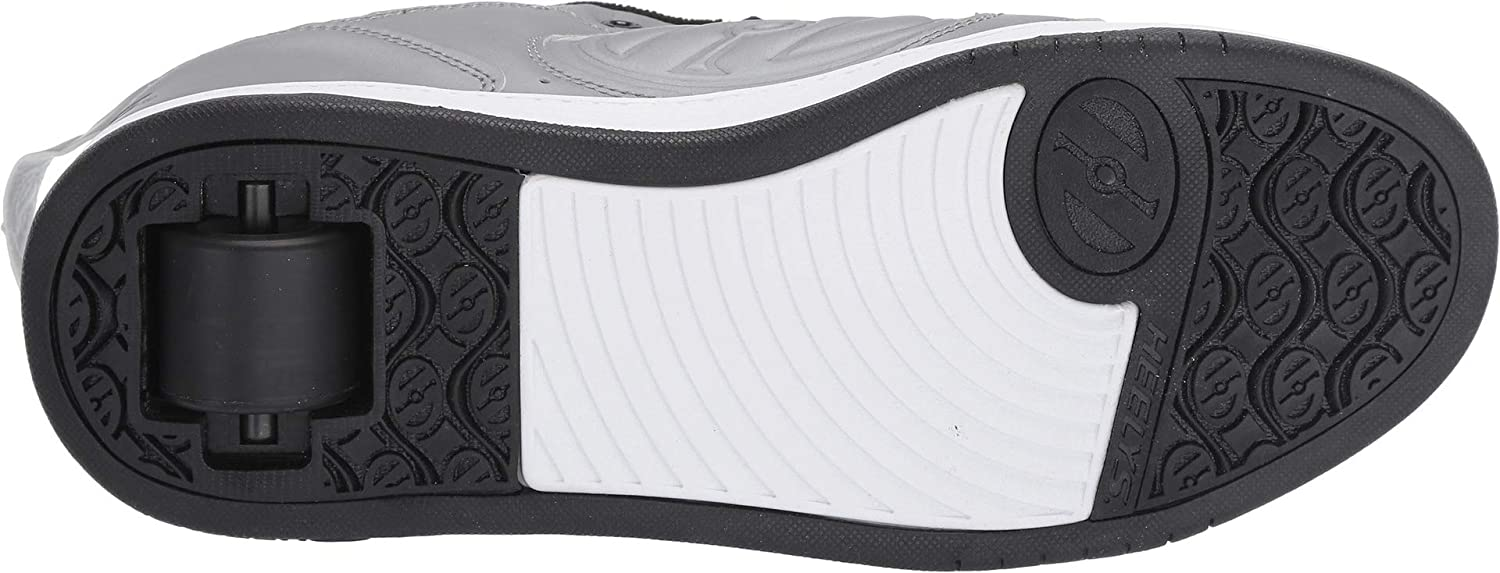 Heelys Mens Voyager Grey Reflective//Black 10 M US