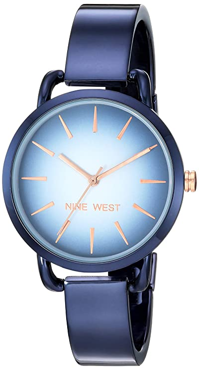 Relojes nine west color azul para damahttps://amzn.to/2PUh6Ca
