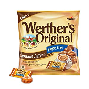 Werther's Original Sugar Free Caramel Coffee,Hard Candies2.75 oz, 3 pack