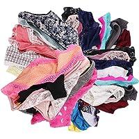 UWOCEKA Womens Underwear,Varity of Panties Pack Boyshorts Briefs Assorted