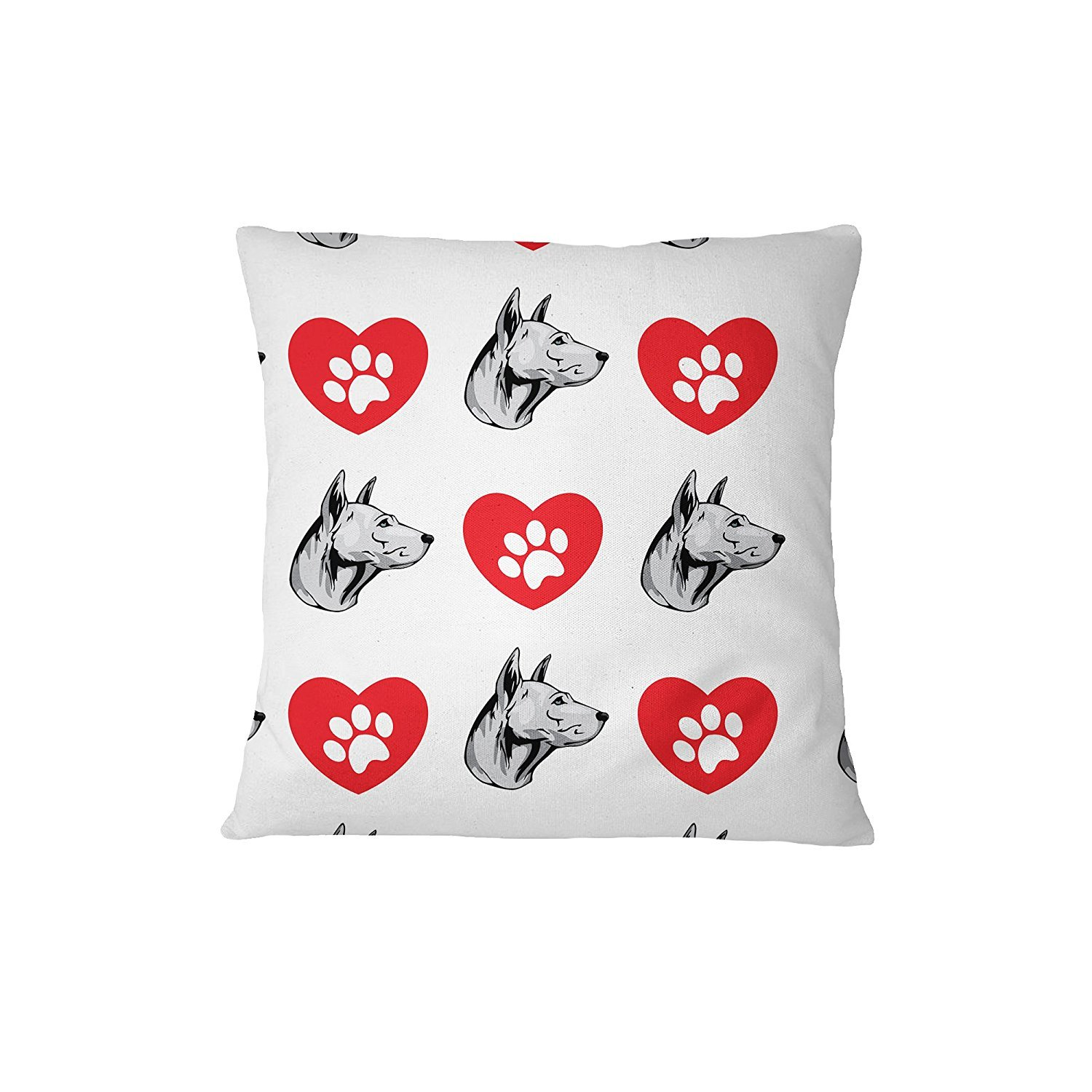 Thai Ridgeback Dog Heart Paws Sofa Bed Home Decor Pillow Cover Pillow & Cover Set ArtsLifes by ArtsLifes