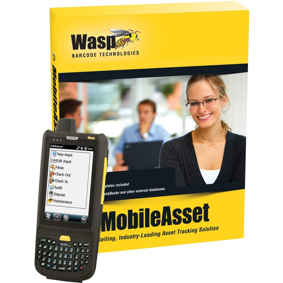 WASP 633808927851 MobileAsset Enterprise Edition - Box pack - unlimited users - Win - with HC1