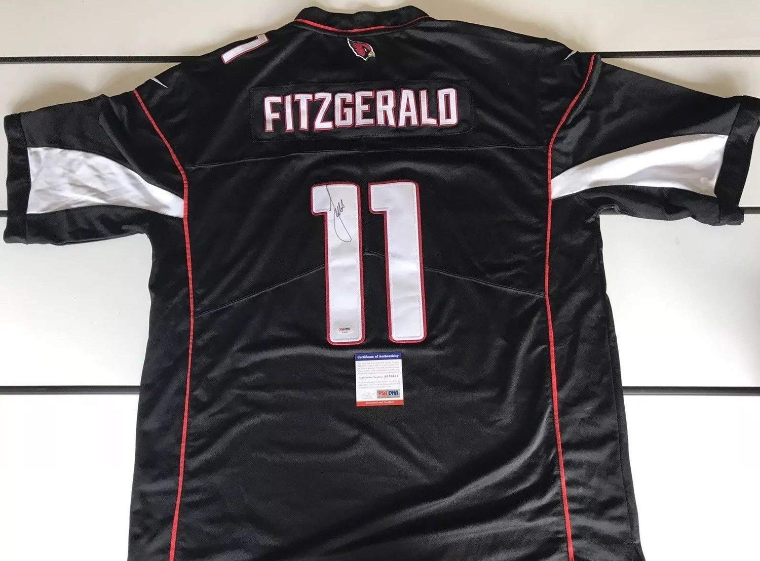 on sale 3f1b9 c9a42 Larry Fitzgerald Autographed Signed Jersey with Memorabilia ...