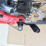ODIER Bike Trailer Coupler 12.2MM Steel Hitch for