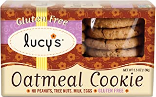 product image for Lucy's Oatmeal Cookies Gluten Free, 5.50-Ounce Boxes (Pack of 8)