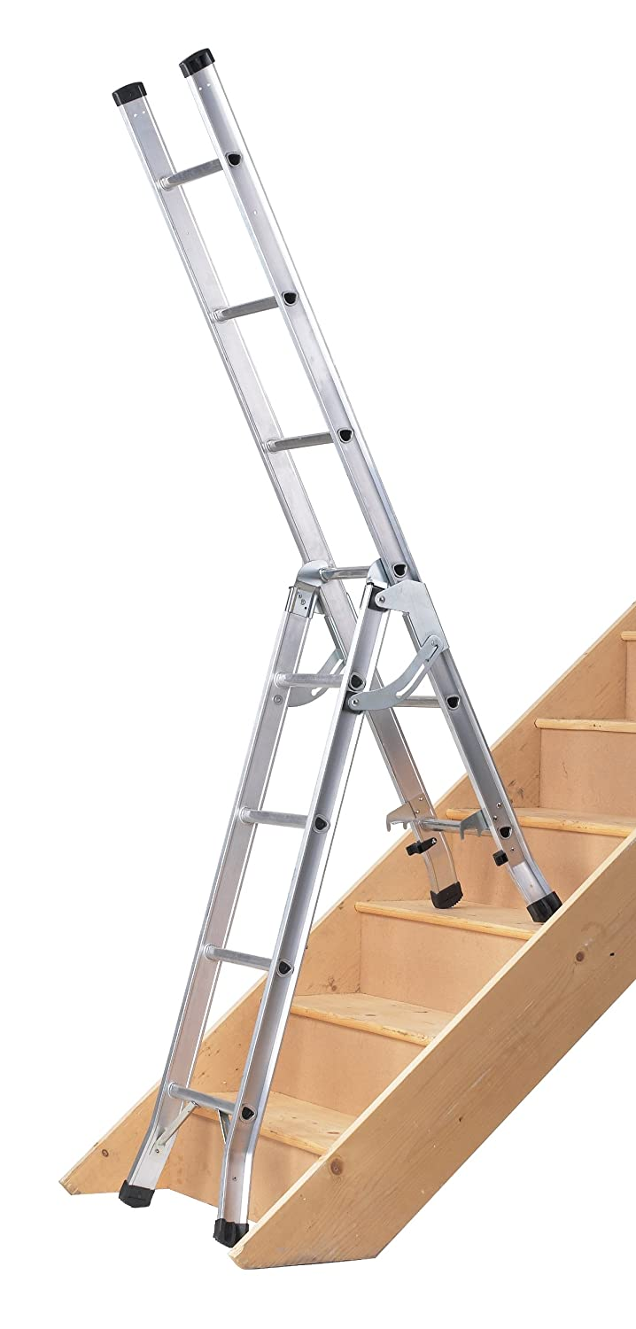 Superior Abru DIY 3 Way Combination Ladder, 95Kg Load Capacity, BS 2037 Class 3, 5  Year Guarantee: Amazon.co.uk: DIY U0026 Tools
