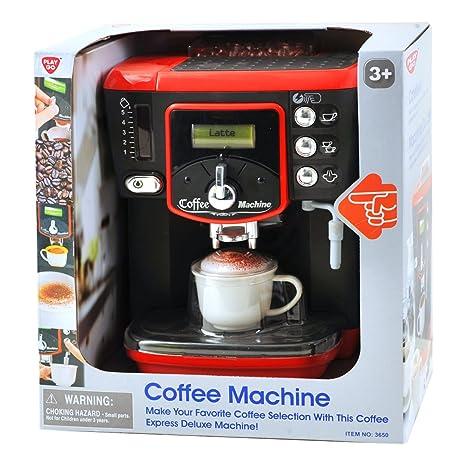 PlayGo 3650 - Máquina de café de lujo, juguete