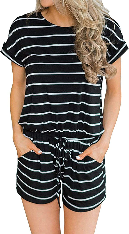Women 2Pcs Outfit Animal Print Short Sleeve T-Shirt Bodycon Shorts Set Jumpsuit