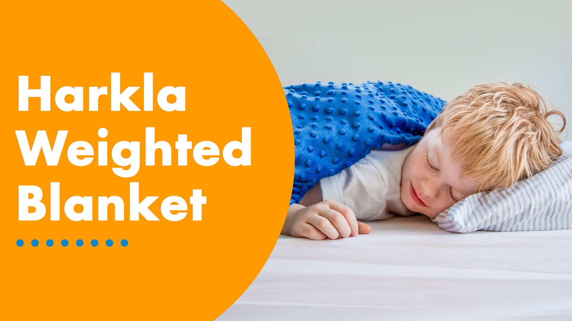 Harkla Weighted Blanket for Kids (7lbs) - Gift for Children That ... 6077a1184