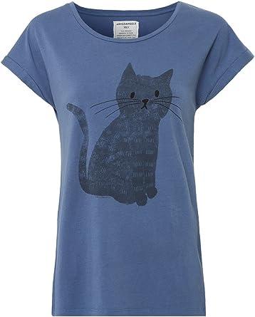 Armed Angels – Camiseta para Mujer (Algodón orgánico, – Liv Cat ...