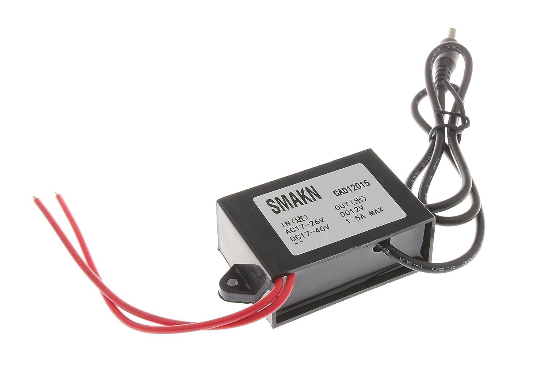 SMAKN AC//DC TO DC Converter AC 17-26V//DC 17-40V Step Down to 12V//1.5A Power Supply Module
