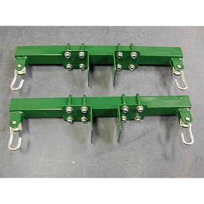 Adjustable Swingset Glider Brackets (Green): Toys & Games