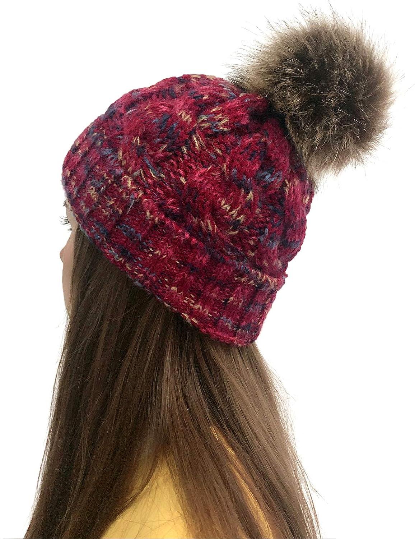 URDEAR Womens Knitted Beanie Hats Winter Warm Knit Soft Stretch Slouchy Skull Cap Ski Cap Beanie for Women Girls