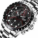 Watch Men Fashion Sport Quartz Clock Mens Watches Top Brand Luxury Full Steel Business Waterproof Watch