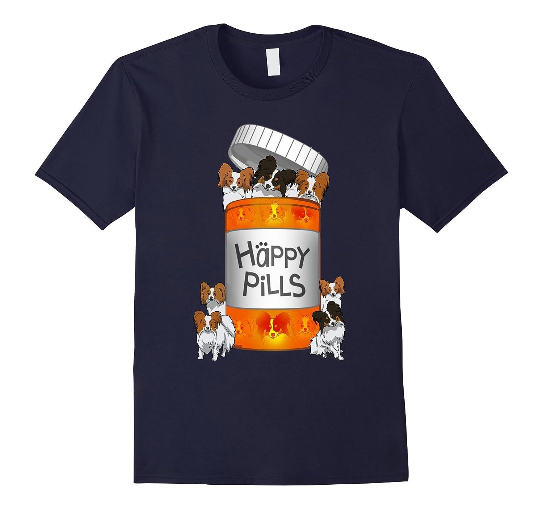 Papillon Happy Pills T-shirt-Art