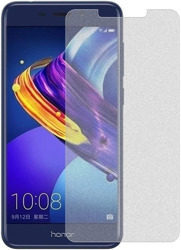 Easy to Install No Retail Package yf Super Clear and dura 50 PCS Non-Full Matte Frosted Tempered Glass Film for Huawei Honor V9 Play