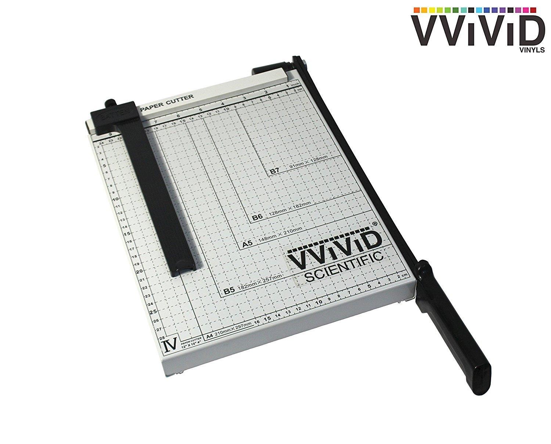 VViViD 12 Guillotine Blade Gridded Paper Trimmer