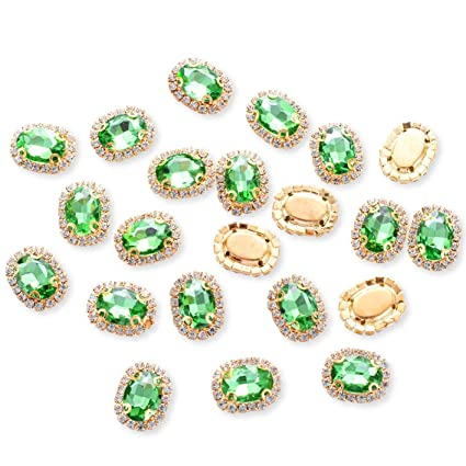 abc48f027 Crystal Rhinestones Sewing on, Premium Rhinestones Flatback Beads Buttons  with Bling Diamonds, DIY Crafts