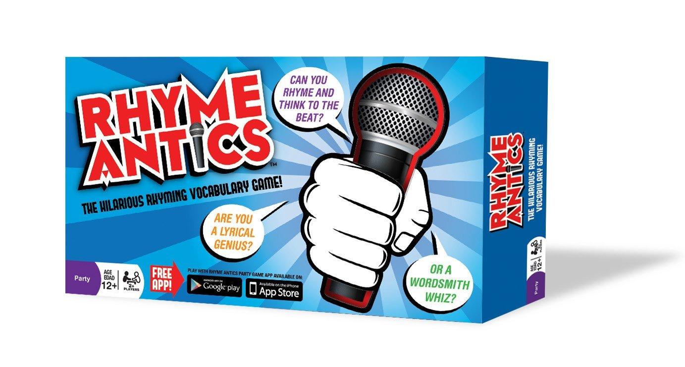Amazon.com: Rhyme Antics -The Hilarious Rhyming Vocabulary Game ...