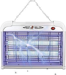 Electric Pest Repeller/Strongest Bug Control Indoor 2800 Volt UV Lamp Flying Fly Killer Mosquitoes Repellent Flies Traps Eliminator Insect Catcher Lure Zap