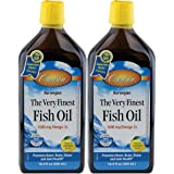 Carlson - The Very Finest Fish Oil Lemon, 16.9oz, 2 Pack