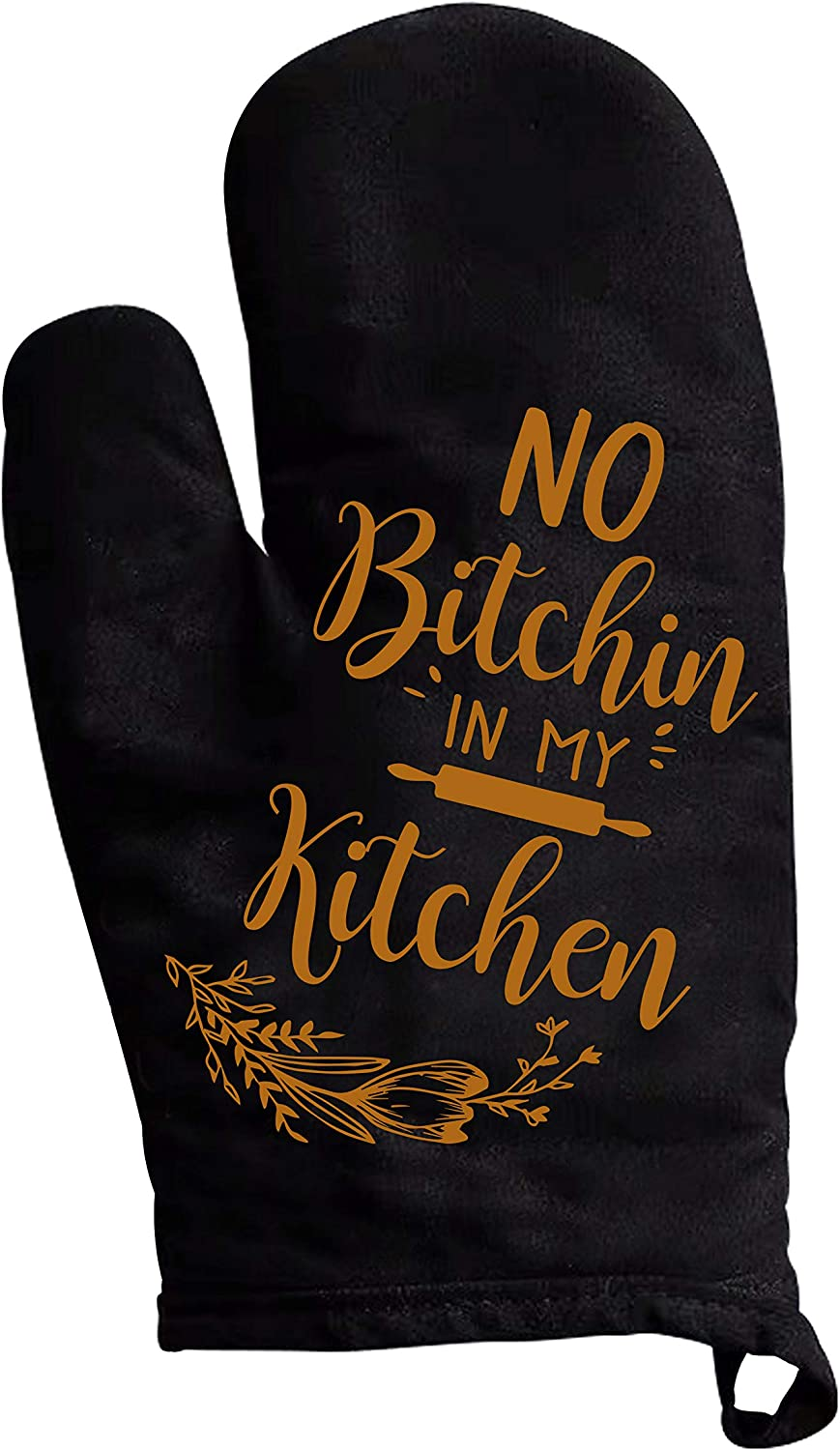 YouFangworkshop Funny Kitchen Oven Mitts 100% Cotton Cooking Oven mitt for Baking, Grilling, Frying Heat Premium Durable Resistant Kitchen BBQ Gloves