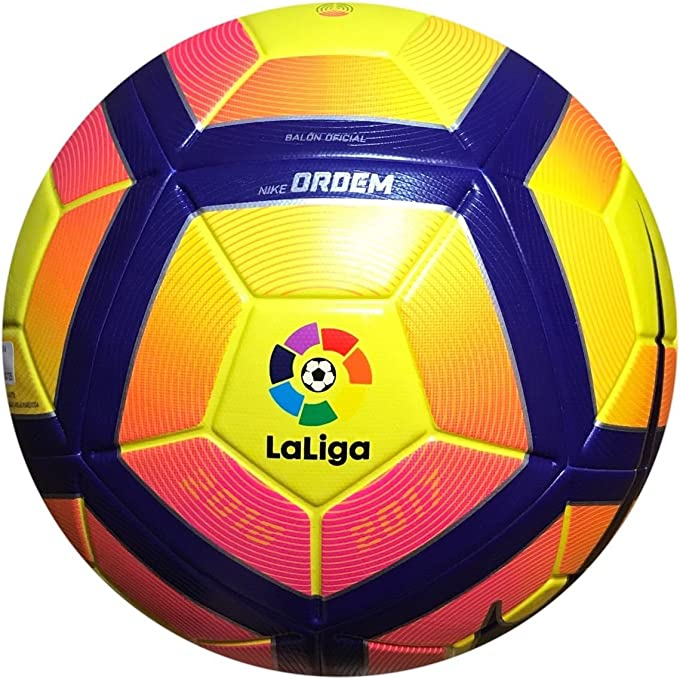 Nike Ordem 4 La Liga Balón, Unisex Adulto, Amarillo (Yellow/Purple ...