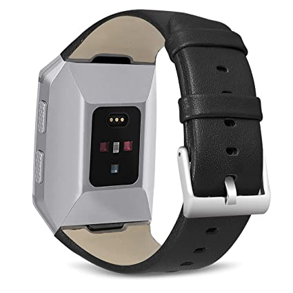 Amazon.com : SKYLET For Fitbit Ionic Bands, Classic Genuine ...