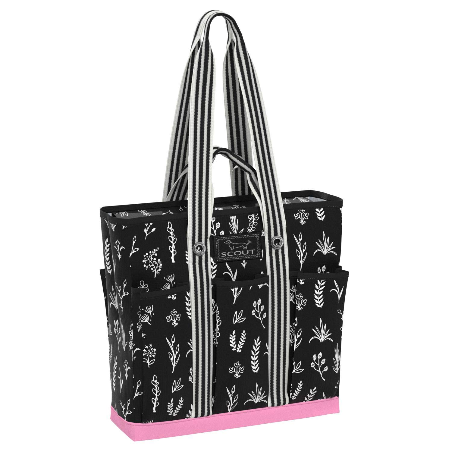 Multiple Patterns Available SCOUT POCKET ROCKET Large Tote Bag for Women Utility Tote Bag with Pockets and Zippered Compartments for Teachers and Nurses
