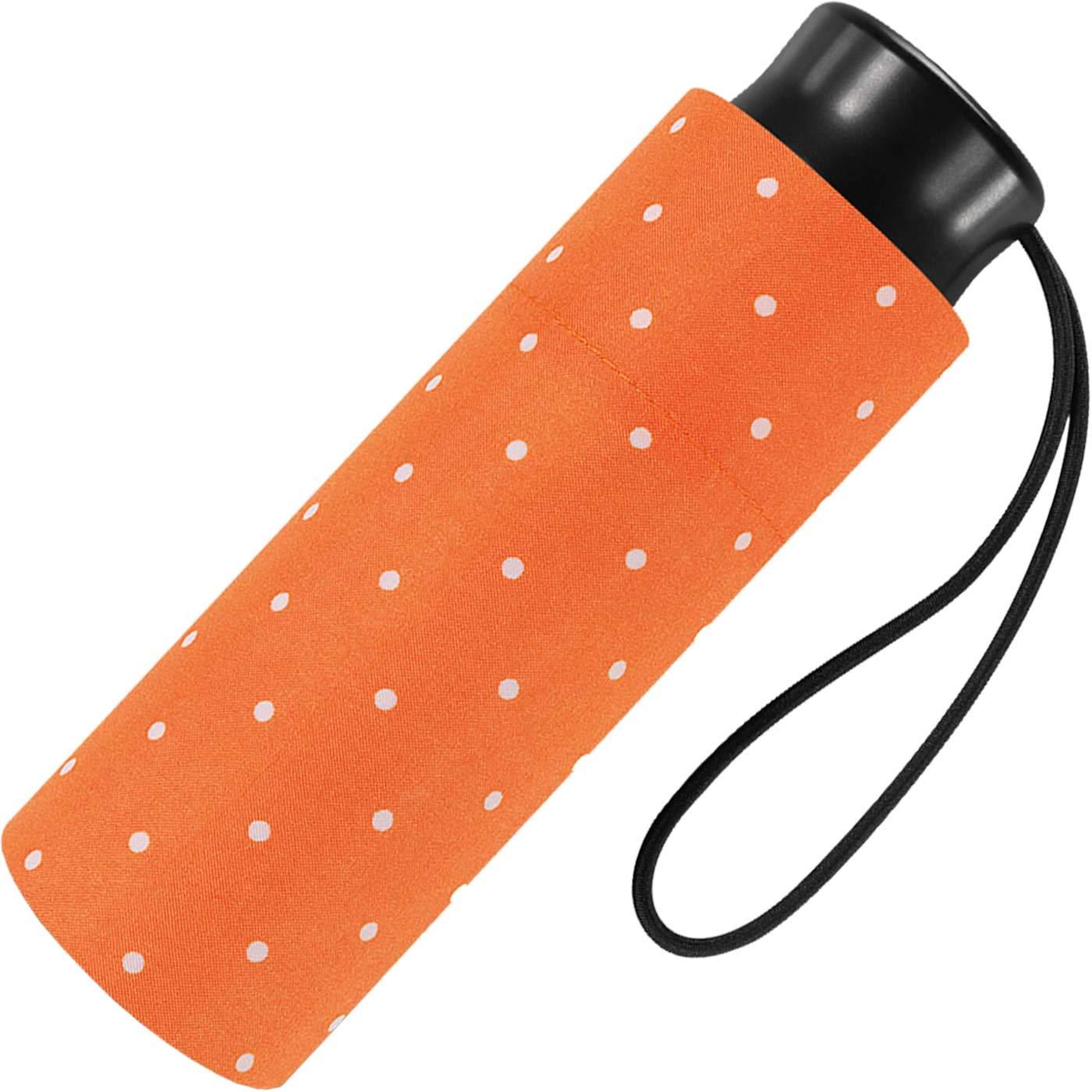 happy rain Ombrello pieghevoli Uomo Arancione Orange 90 cm