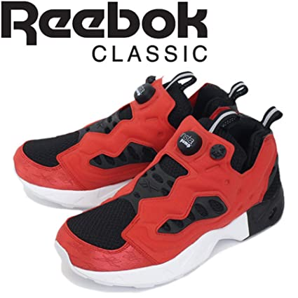 5b433f51b605 Image Unavailable. Image not available for. Color  Reebok Instapump Fury  Road MT (Black Primal Red White) Men s Shoes BD1499