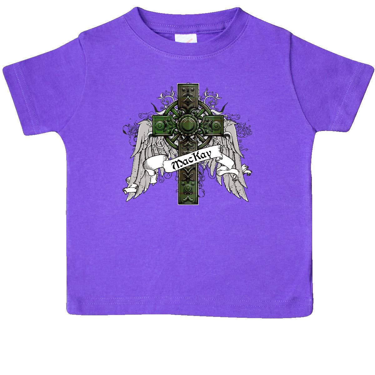 inktastic MacKay Tartan Cross Baby T-Shirt