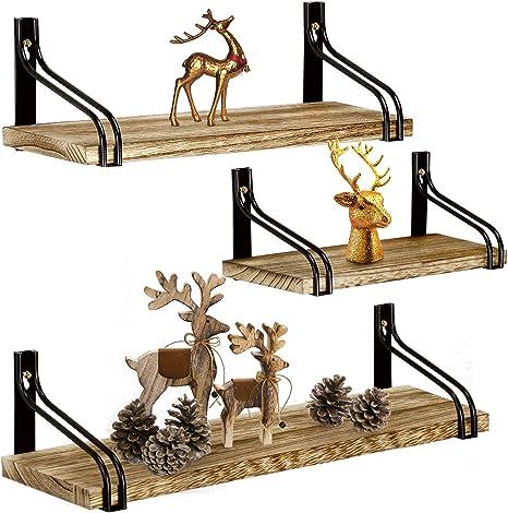 Rustic Deer Shelves