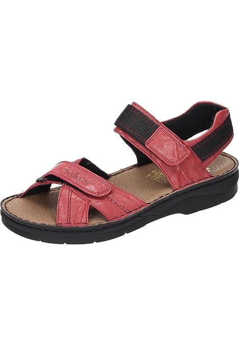 rieker Damen Sandale Rosa Schuhe, Größe:39 | real