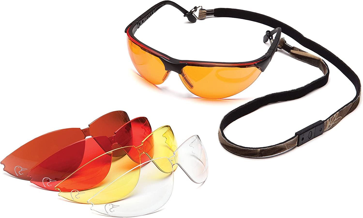 Ducks Unlimited Shooting Eyewear Kit With 5 Anti-Fog Lens Options : Hunting Safety Glasses : Sports & Outdoors