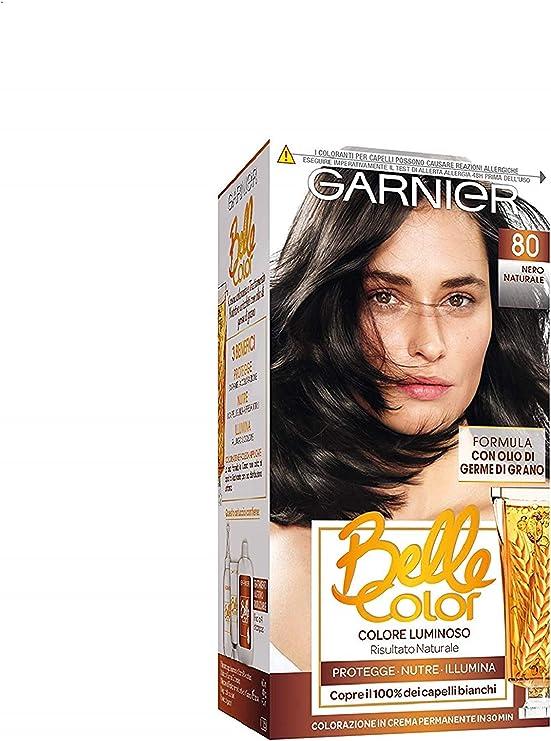 BELLE COLOR 80 nero naturale - Tintes para el cabello