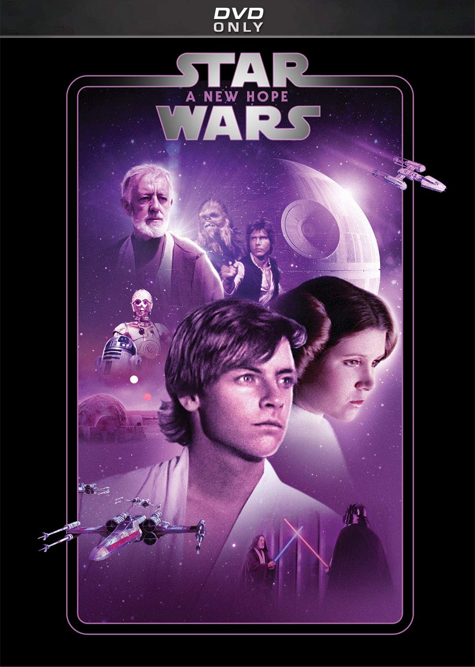 Amazon Com Star Wars A New Hope Mark Hamill Harrison Ford Carrie Fisher Peter Cushing Alec Guinness Anthony Daniels Kenny Baker Peter Mayhew David Prowse James Earl Jones Phil Brown Shelagh Fraser Jack