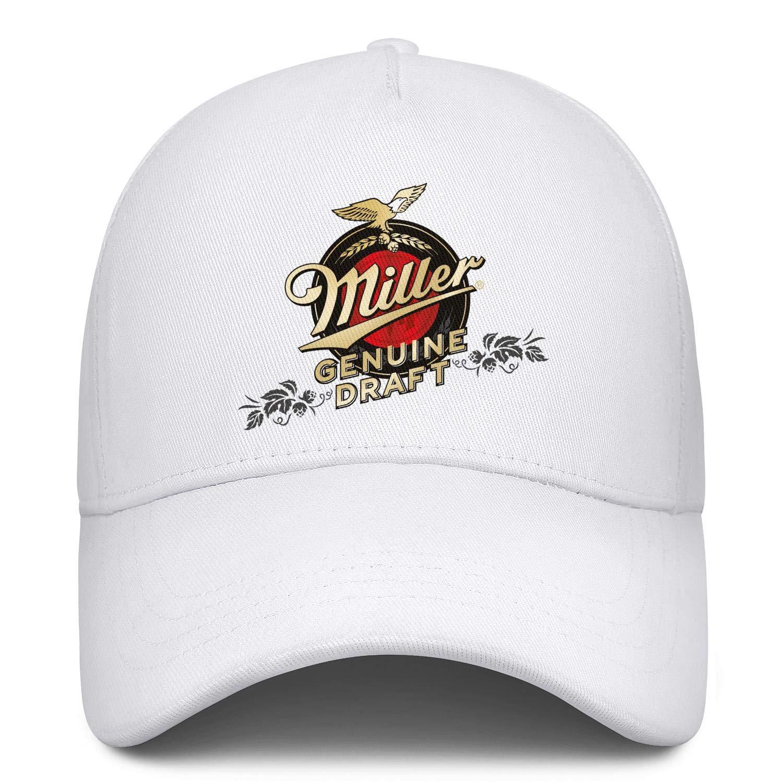 Cap Casual Hats Athletic Caps Mens Womens Miller-Genuine-Draft-High-Life