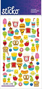 Sticko Classic Mini Food Characters Stickers