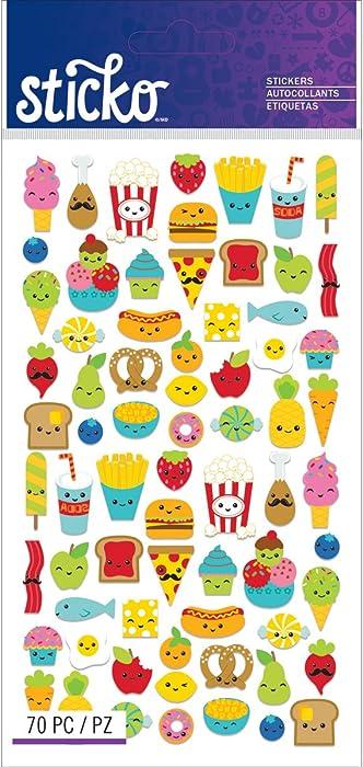 Top 9 Mini Food Stickers