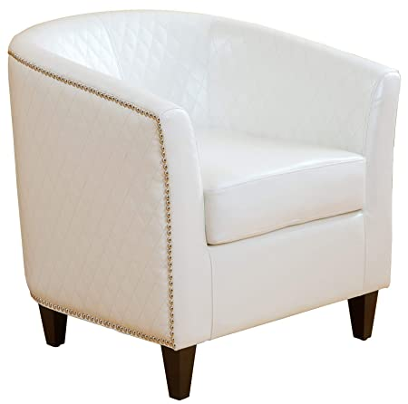 Christopher Knight Home 218763 Mia-CKH Club Chair, Ivory