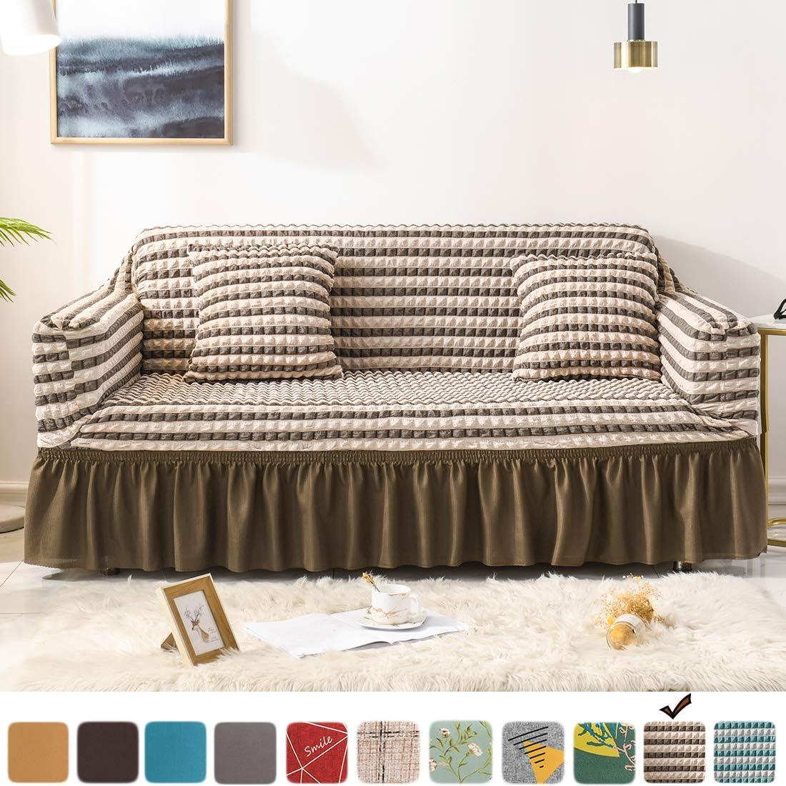 Free Amazon Promo Code 2020 for Fluffy Cat Seersucker Sofa Cover